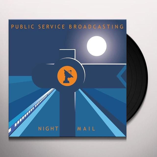 Public Service Broadcasting NIGHT MAIL Vinyl Record