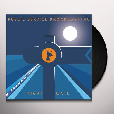 Public Service Broadcasting NIGHT MAIL Vinyl Record - UK Import