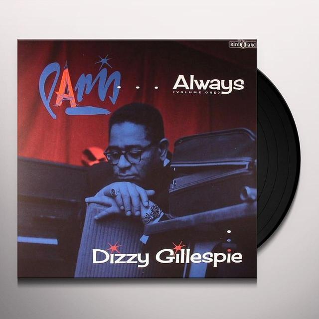 Dizzy Gillespie VOL. 1-PARIS ALWAYS Vinyl Record