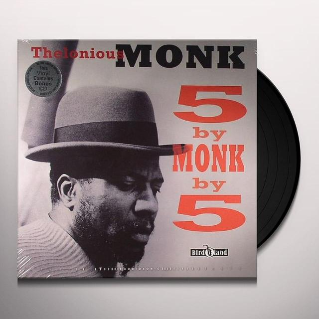 Thelonious Monk 5 BY MONK BY 5 REMASTERED Vinyl Record - UK Import