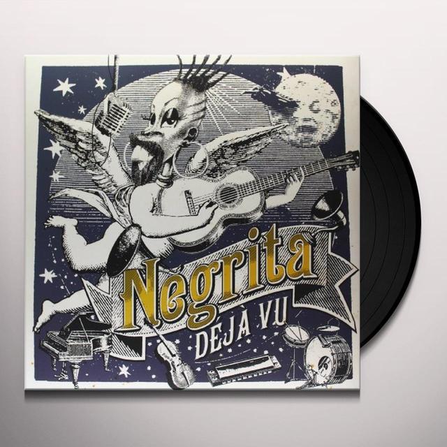 Negrita DEJA' VU-VINYL Vinyl Record - Italy Release