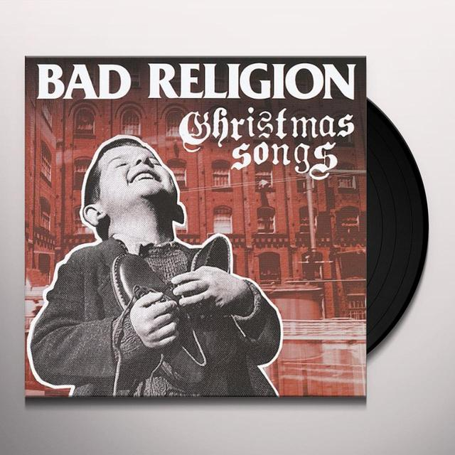 Bad Religion CHRISTMAS SONGS Vinyl Record - UK Import