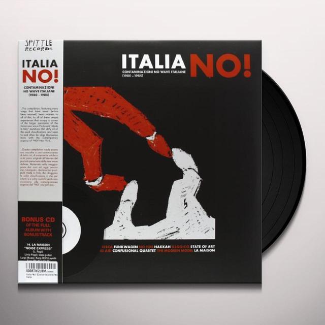 ITALIA NO!-CONTAMINAZIONI NO WAVE ITALIANE 1980-85 Vinyl Record