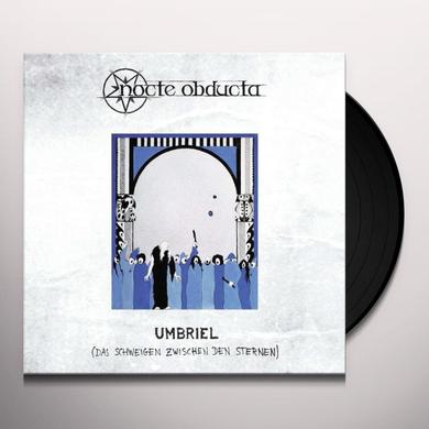 Nocte Obducta UMBRIEL/DAS SCHWEIGEN (LIMITED BLACK VINYL) (GER) Vinyl Record