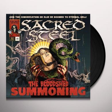Sacred Steel BLOODSHED SUMMONING (GER) Vinyl Record