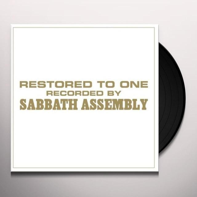 Sabbath Assembly RESTORED TO ONE Vinyl Record