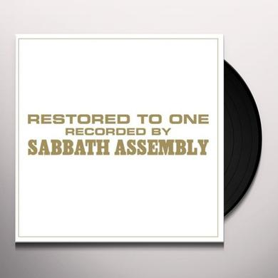 Sabbath Assembly RESTORED TO ONE (GER) Vinyl Record