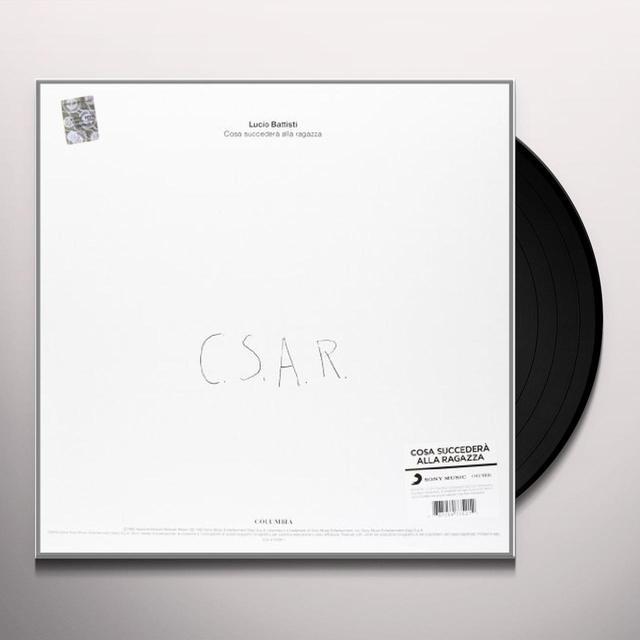 Lucio Battisti COSA SUCCEDERA' ALLA RAGAZZA Vinyl Record - Italy Release