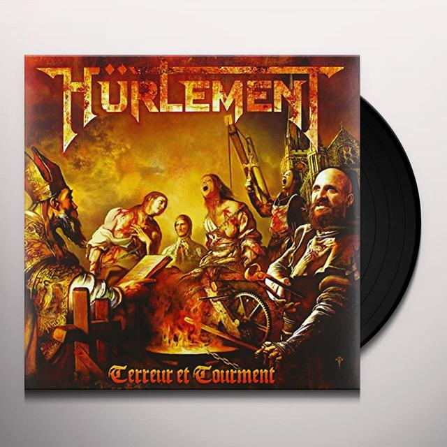 Huerlement TERREUR ET TOURMENT Vinyl Record - Holland Release