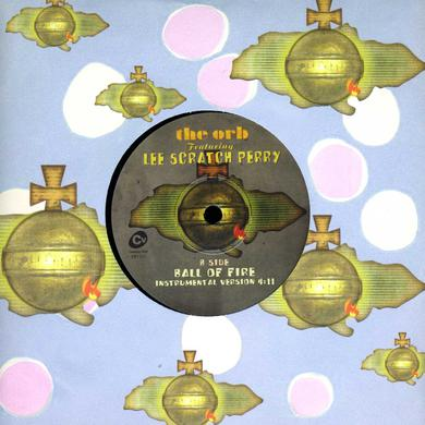 Lee The Orb Scratch Perry BALL OF FIRE Vinyl Record