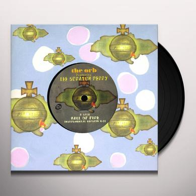 Lee The Orb Scratch Perry BALL OF FIRE Vinyl Record - UK Import