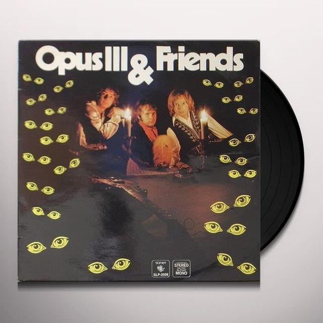 OPUS III & FRIENDS Vinyl Record - Sweden Release