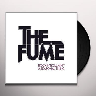 The Fume ROCK'N'ROLL AINT A SEASONAL THING Vinyl Record - Portugal Import