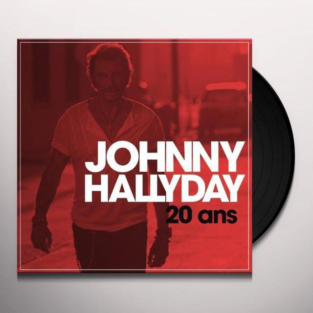 Johnny Hallyday ON STAGE (FRA) Vinyl Record