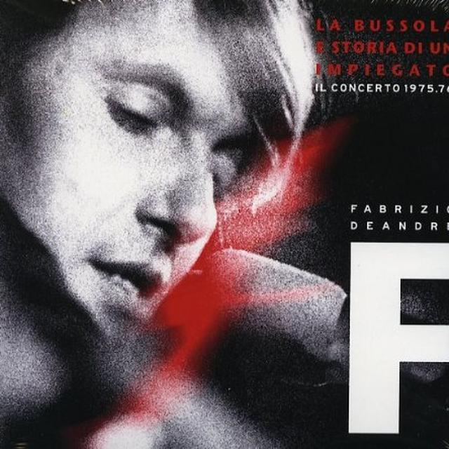 Fabrizio De André FABRIZIO DE ANDRE E NEW TROLLS-IL CONC (GER) Vinyl Record
