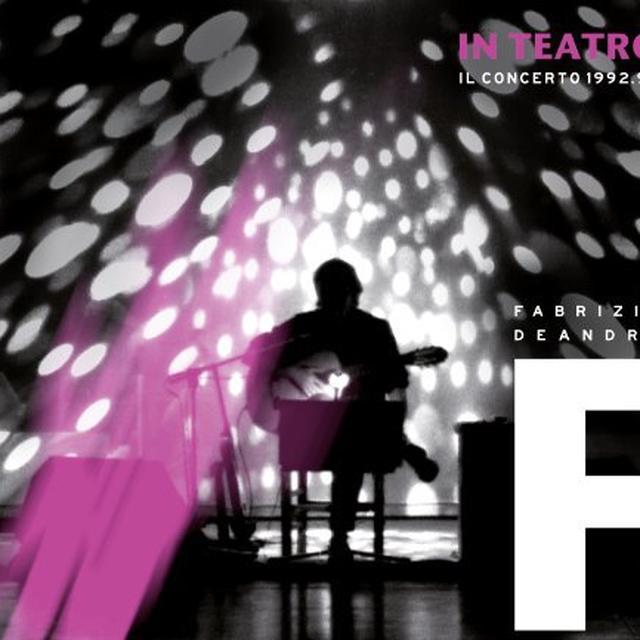 Fabrizio De André IN TEATRO-IL CONCERTO 1992/1993 (GER) Vinyl Record