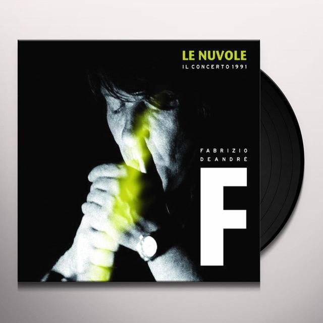 Fabrizio De André LE NUVOLE-IL CONCERTO 1991 (GER) Vinyl Record