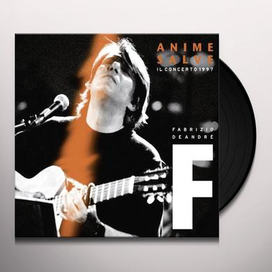Fabrizio De André ANIME SALVE-IL CONCERTO 1997 (GER) Vinyl Record