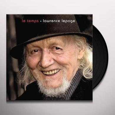 Lawrence Lepage TEMPS Vinyl Record - Canada Import