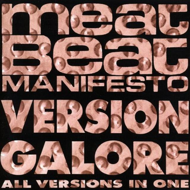 Meat Beat Manifesto VERSION GALORE Vinyl Record