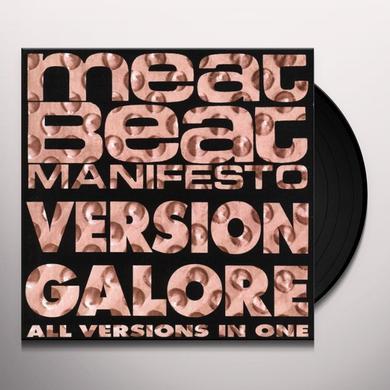 Meat Beat Manifesto VERSION GALORE Vinyl Record - UK Import