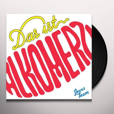 Jeans Team DAS IST ALKOMERZ Vinyl Record