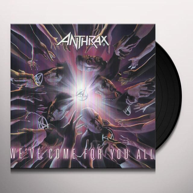 Anthrax WE'VE COME FOR YOU ALL (WHITE VINYL) (GER) Vinyl Record