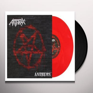 Anthrax ANTHEMS (RED VINYL) Vinyl Record - Holland Import