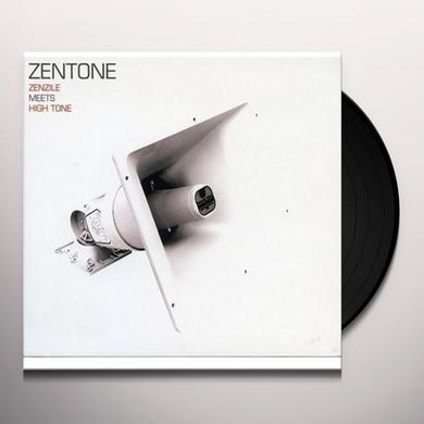 Zentone ZENZILE MEETS HIGH TONE Vinyl Record