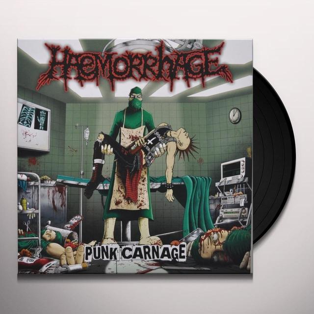 Haemorrhage PUNK CARNAGE Vinyl Record - Portugal Import