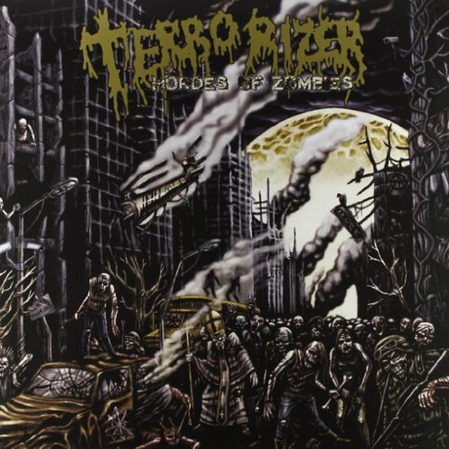Terrorizer HORDES OF THE ZOMBIE (GER) Vinyl Record