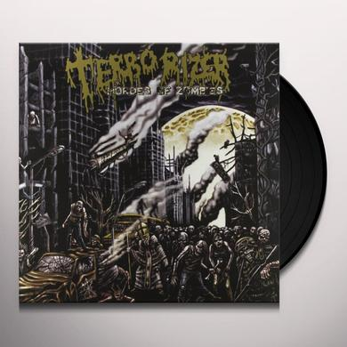 Terrorizer HORDES OF THE ZOMBIE Vinyl Record