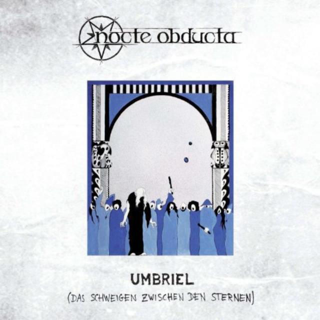 Nocte Obducta UMBRIEL/DAS SCHWEIGEN (LIMITED RED VINYL) Vinyl Record
