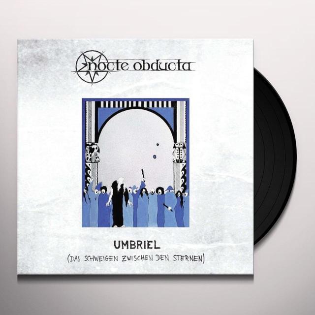Nocte Obducta UMBRIEL/DAS SCHWEIGEN (LIMITED WHITE VINYL) (GER) Vinyl Record