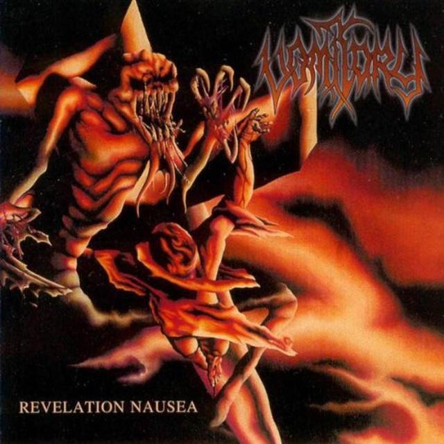 Vomitory REVELATION NAUSEA Vinyl Record