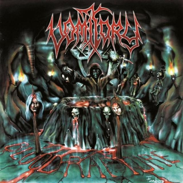 Vomitory BLOOD RAPTURE Vinyl Record