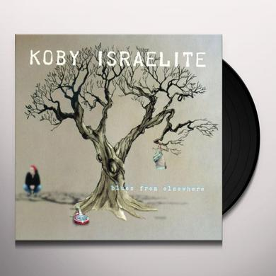 Koby Israelite BLUES FROM ELSEWHERE Vinyl Record