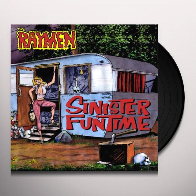 Raymen SINISTER FUNTIME (W/POSTER) Vinyl Record - UK Import