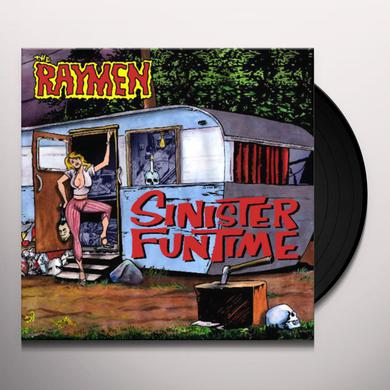 Raymen SINISTER FUNTIME (W/POSTER) Vinyl Record - UK Release