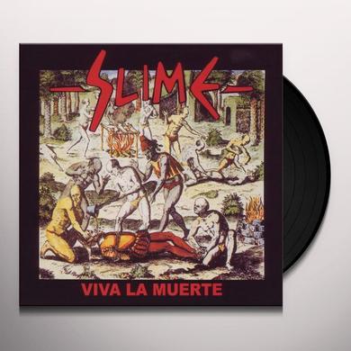 Slime VIVA LA MUERTE (GER) Vinyl Record