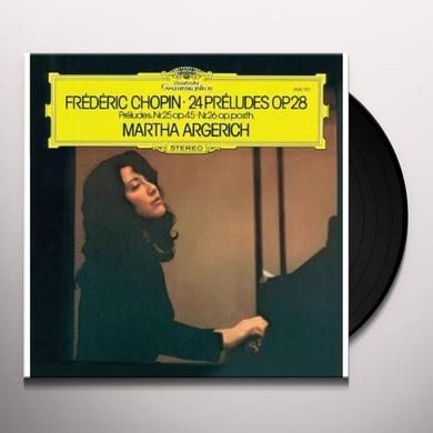 F. Chopin 24 PRELUDES OP.28 ARGERICH MARTHA (GER) Vinyl Record