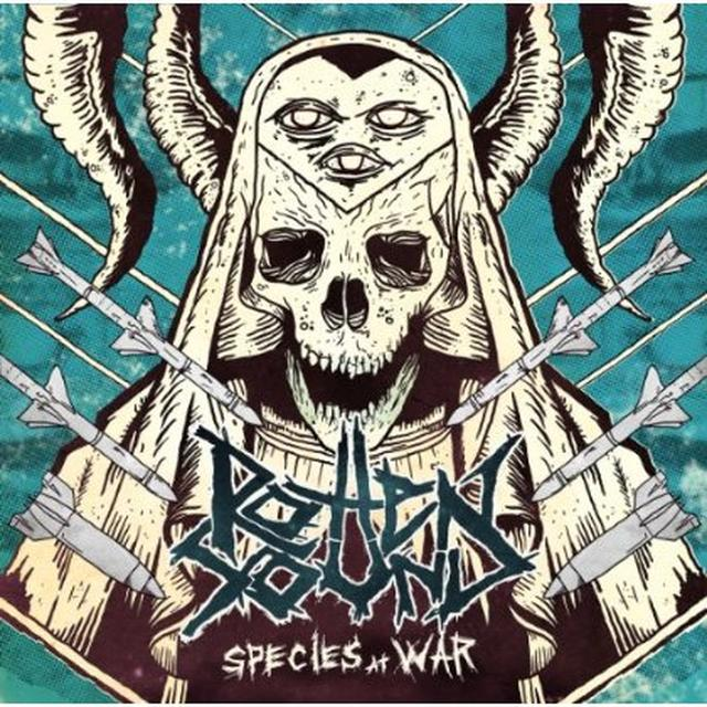 Rotten Sound SPECIES AT WAR (PIC DISC) Vinyl Record