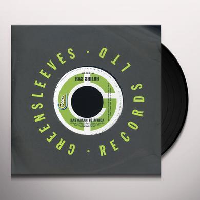 Ras Shiloh RASTAMAN TO AFRICA Vinyl Record