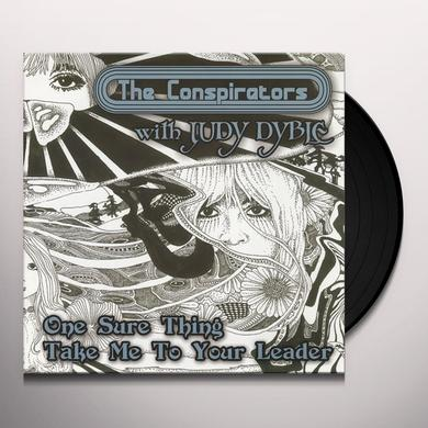 Conspirators ONE SURE THING Vinyl Record - UK Import