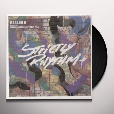 Marlon D VOL. 2-UNDERGROUND COLLECTIVE EP Vinyl Record - UK Import