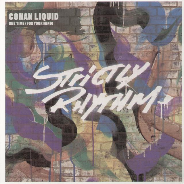 Conan Liquid ONE TIME (FOR YOUR MIND) Vinyl Record - UK Import