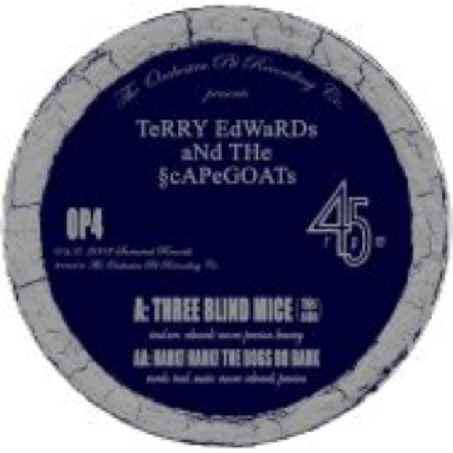 Terry Edwards & The Scapegoats THREE BLIND MICE Vinyl Record - UK Release