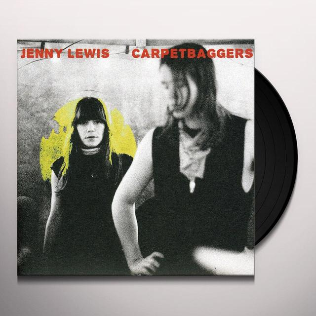 Jenny Lewis CARPETBAGGERS Vinyl Record - UK Release