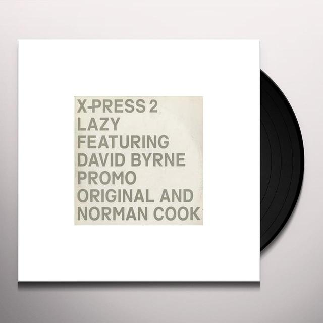 X-Press 2 LAZY Vinyl Record - UK Release