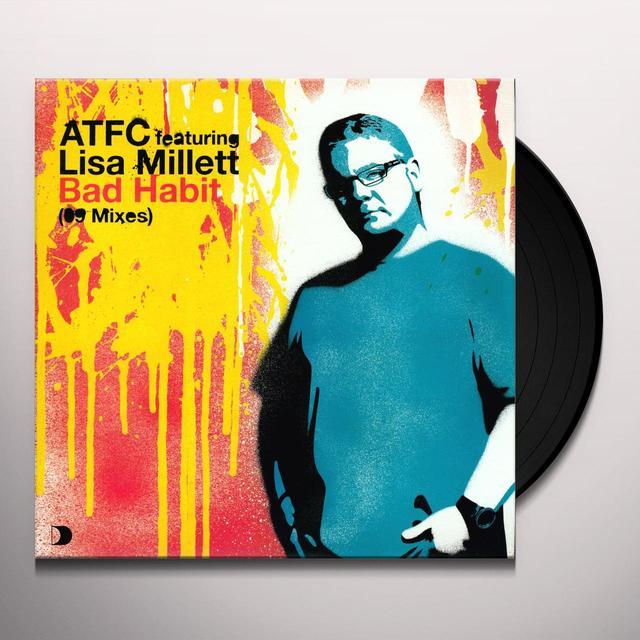 Lisa Atfc / Millett BAD HABIT 09 REMIX Vinyl Record